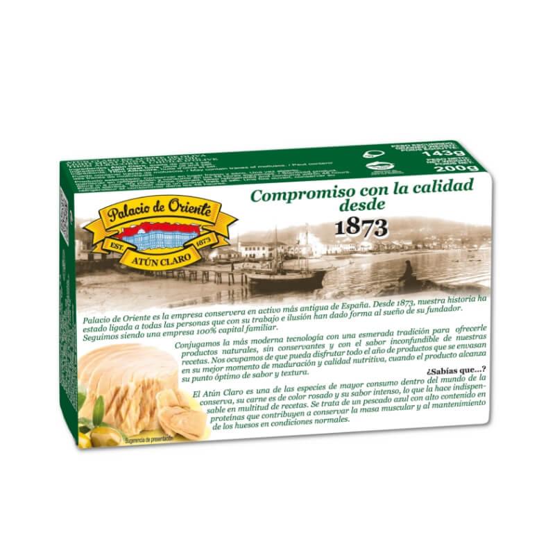 Atún Claro en Aceite de Oliva 200g