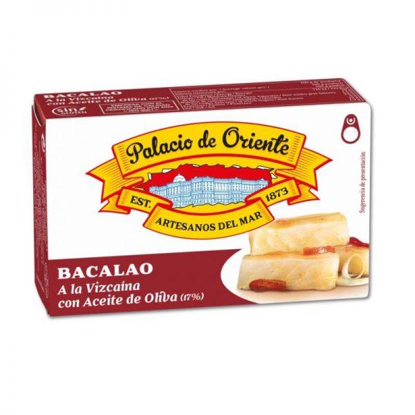 Baccalà alla biscaglina con Olio di Oliva 115g