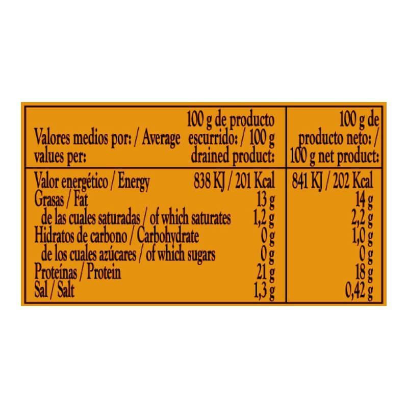 Bonito del Norte en Escabeche con Aceite de Oliva 115g