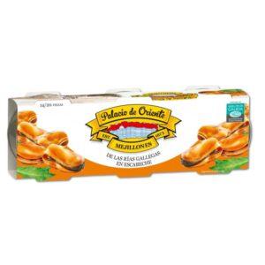 Mejillones Rías Gallegas en Escabeche 14/20 Piezas - Pack de 3