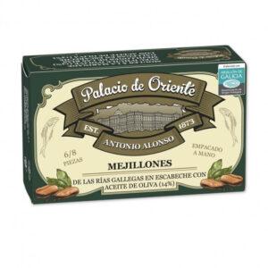 Mejillones Rías Gallegas en Escabeche con Aceite Oliva 6/8 Piezas