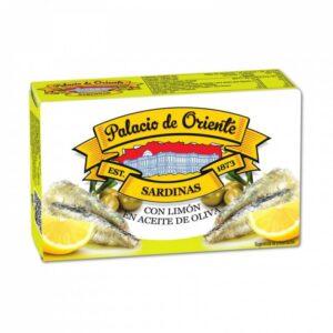 Sardinas con Limón en Aceite de Oliva