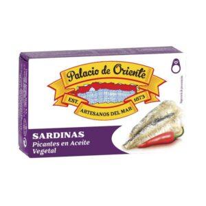 Sardinas Picantes en Aceite de Girasol