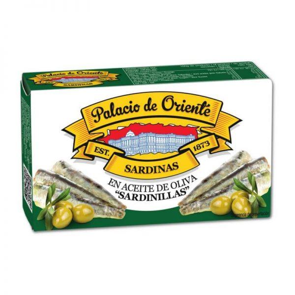 Piccole Sardine in Olio di Oliva 81g