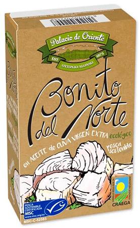 Bonito del norte MSC en aceite de oliva virgen extra ecológico de Palacio de Oriente