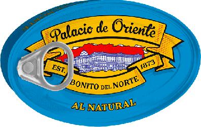 Lata de bonito del norte al natural de Palacio de Oriente