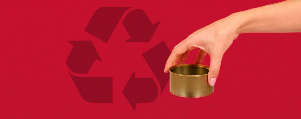Reciclar latas de conserva es un sencillo gesto que ayuda a preservar el medio ambiente